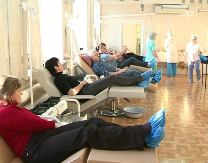 Новое оборудование на станции переливания крови