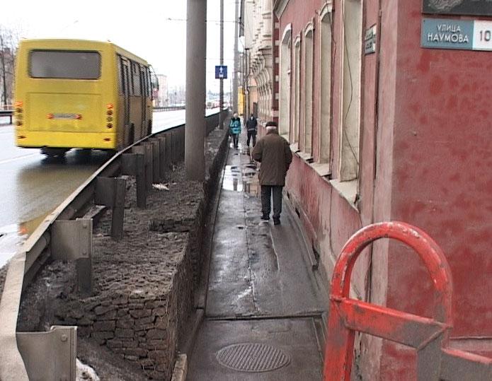 Проблемы дорог на Московском проспекте