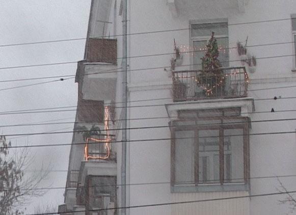 Конкурс на лучшее новогоднее оформление балкона и окна