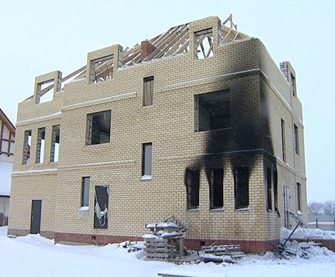Пожар на улице Рябиновая, погиб человек