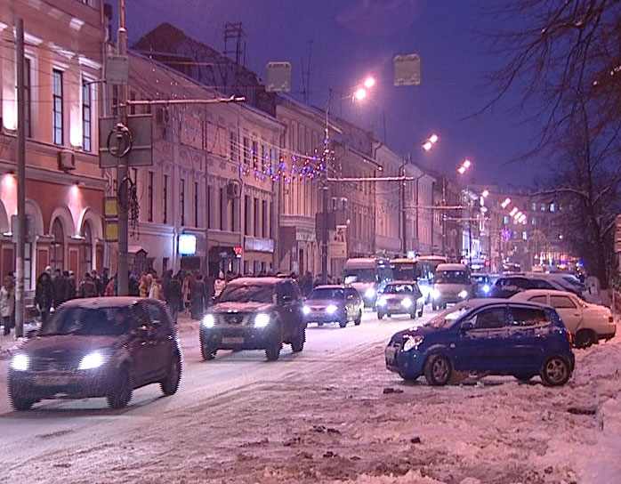 Новая схема дорожного движения Ярославля