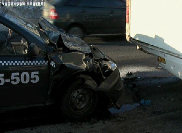 Авария на улице Пионерская
