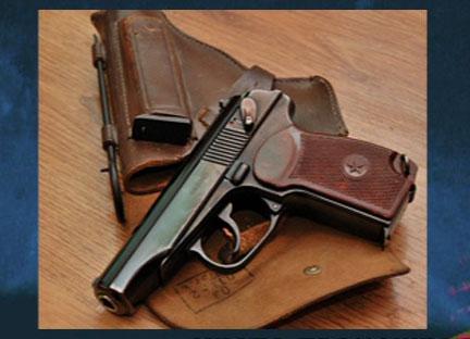 Проверяя оружие, выстрелила себе в ногу