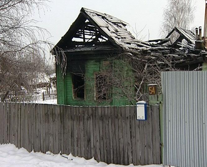 Пожар на улице Крупской
