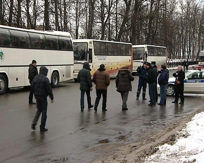 Массово поехали в Москву в день выборов