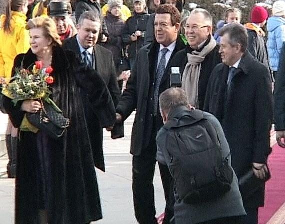 Валентину Терешкову поздравили с юбилеем