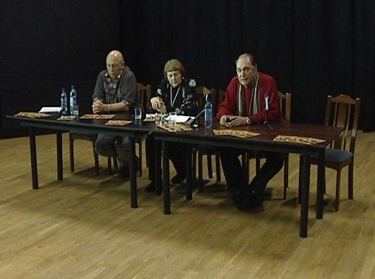 Театр Станиславского на гастролях в Волковском