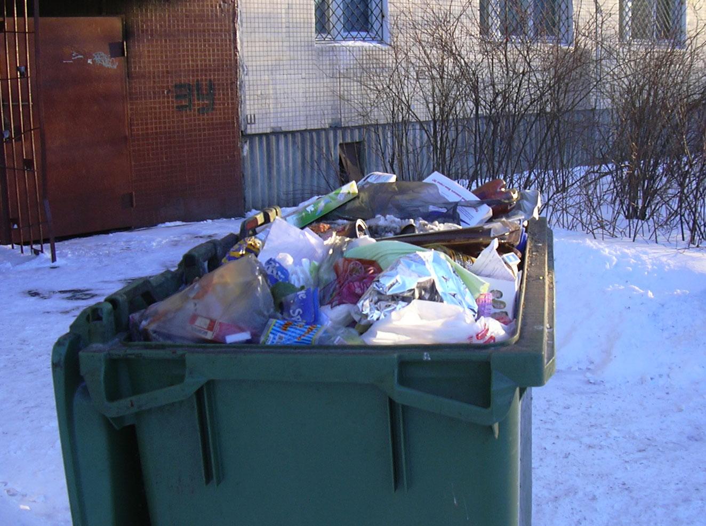 В мусорном контейнере нашли тело ребенка