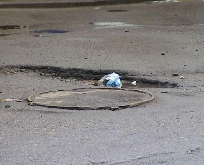 Возобновился дорожный ремонт