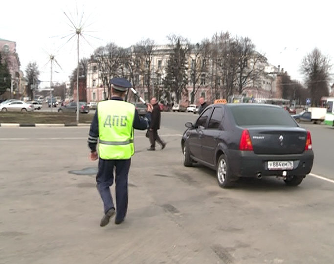 Штрафуют нелегальных таксистов