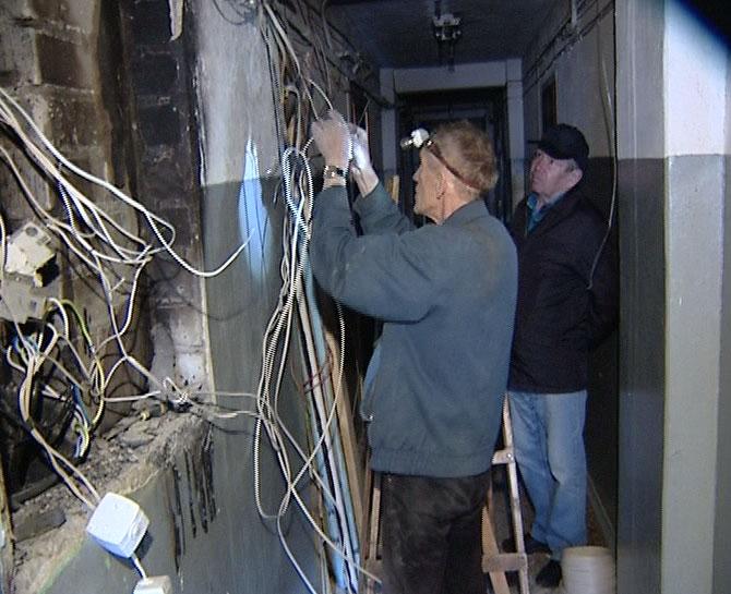 В доме сгорели все электрощитки