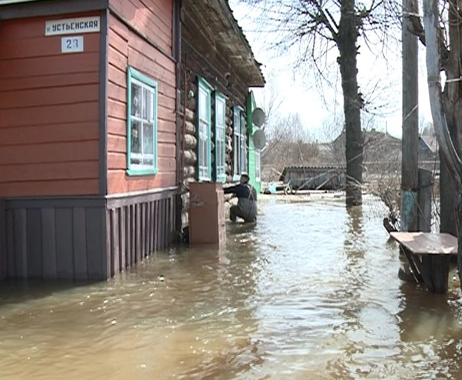 Затопило поселок Борисоглебский