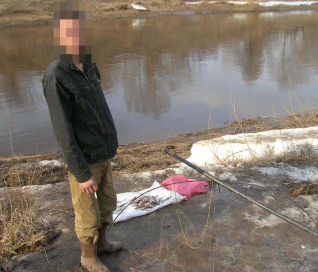 Задержали за незаконный лов рыбы