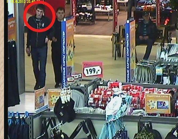 Похитили одежду из гипермаркета