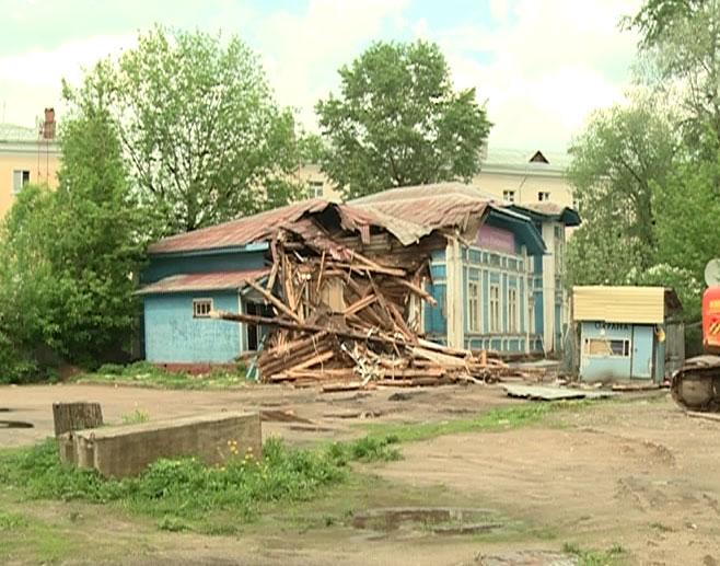 Разобрали памятник культуры, ярославцы против
