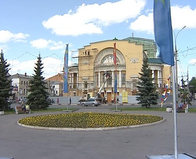 Ремонт в Волковском театре