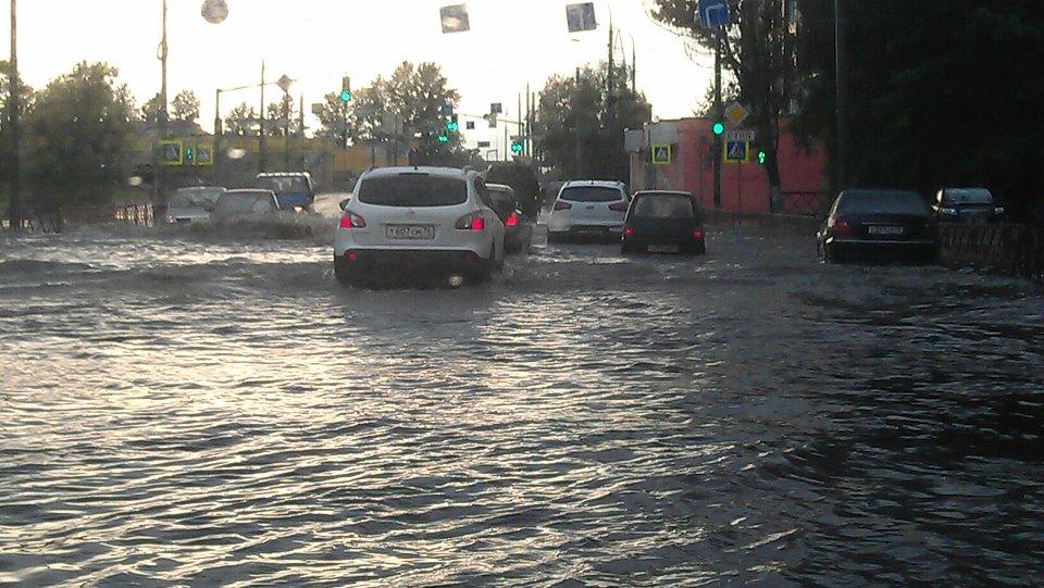 Ярославль затопило