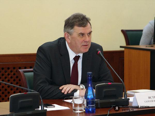 Сергей Ястребов поздравил с вступлением в должность главу Даниловского района