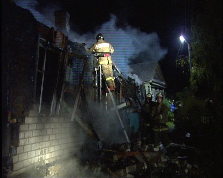 Пожар в деревне: борьба с огнем шла более трех часов