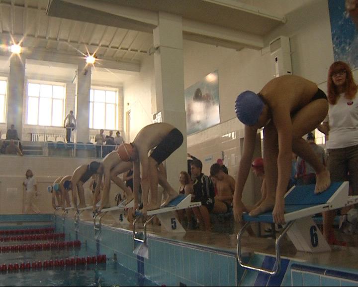 Стартовал чемпионат области по плаванию