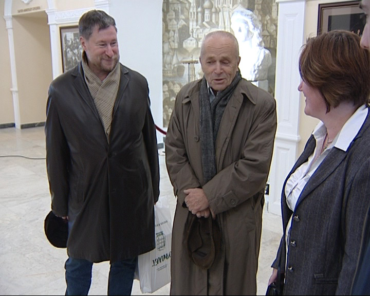 В Ярославль приехал внук архитектора Волковского театра Николая Спирина
