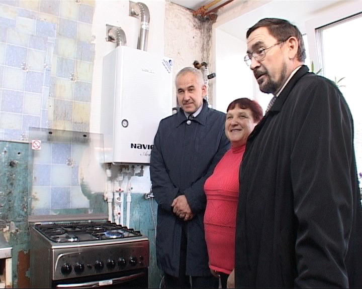 В село Плещеево пришел газ