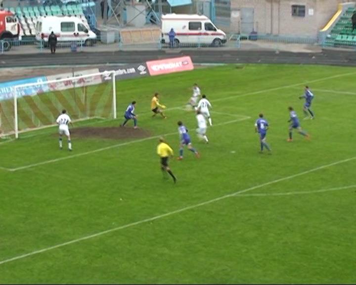 Третья победа «Шинника» со счетом 2-1
