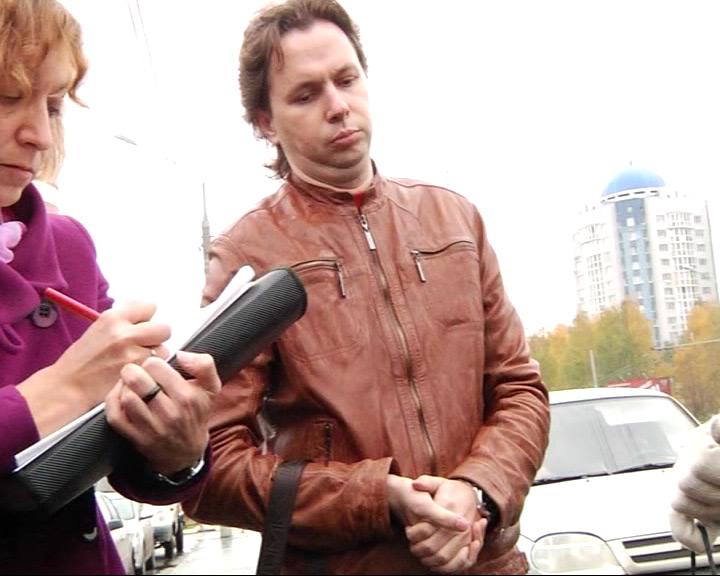 Оперативное видео задержания Дениса Васильева