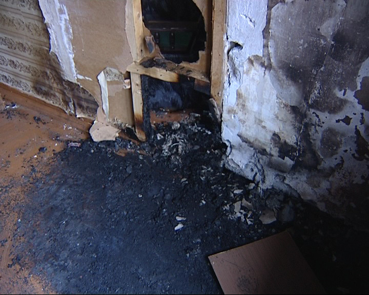 В квартире сгорел пенсионер