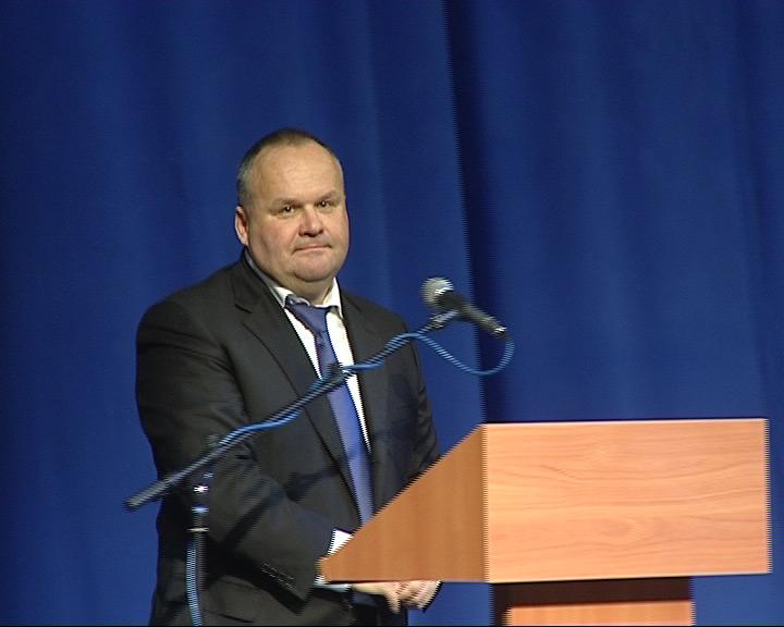 Инаугурация мэра Юрия Ласточкина