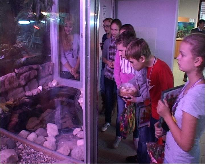 В зоопарке прошел праздник для слабослышащих детей