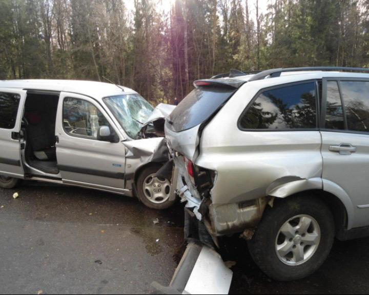 Авария на дороге унесла жизнь человека