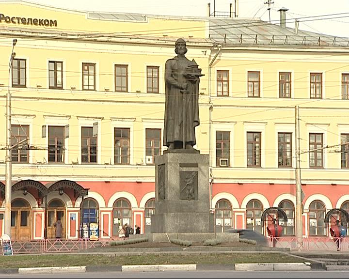 Памятник Ярославу Мудрому отмечает 20-летний юбилей