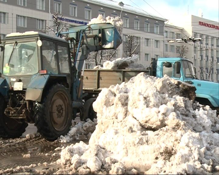Компания-подрядчик к уборке снега не готова