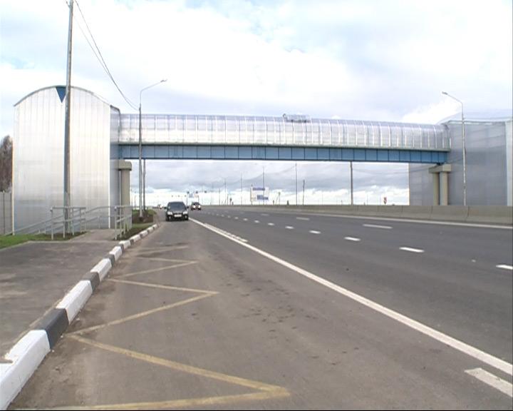 В Кузнечихе и в поселке Подвязное открыли наземные пешеходные переходы