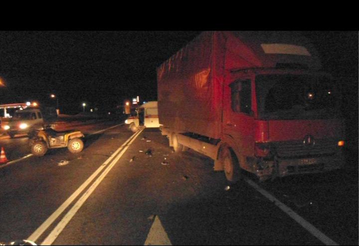 Квадроцикл попал под колеса грузового «Мерседеса»