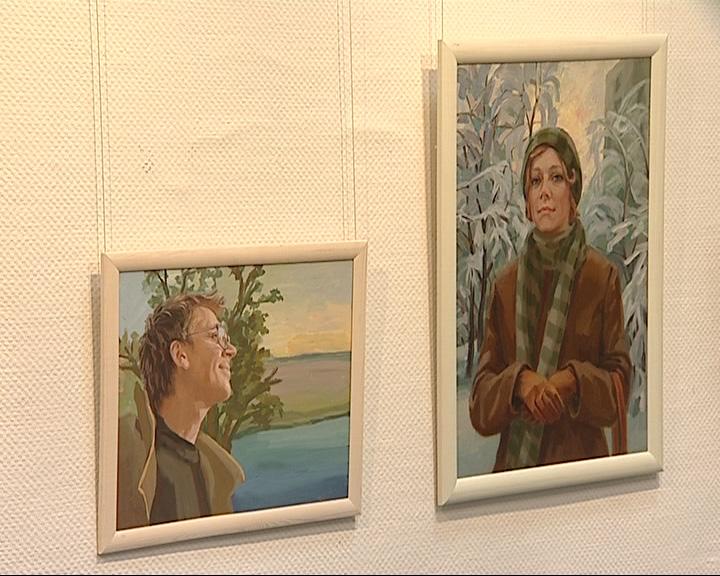 Открылась выставка «Поле перейти» художницы Тамары Никифоровой