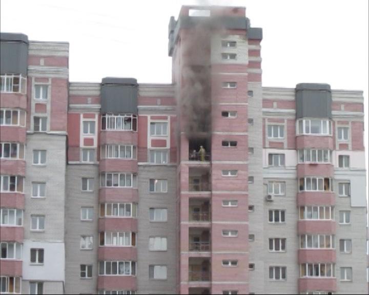 Серьезный пожар во Фрунзенском районе