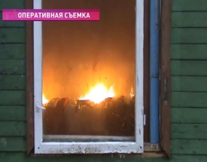 Пожарные устроили поджог