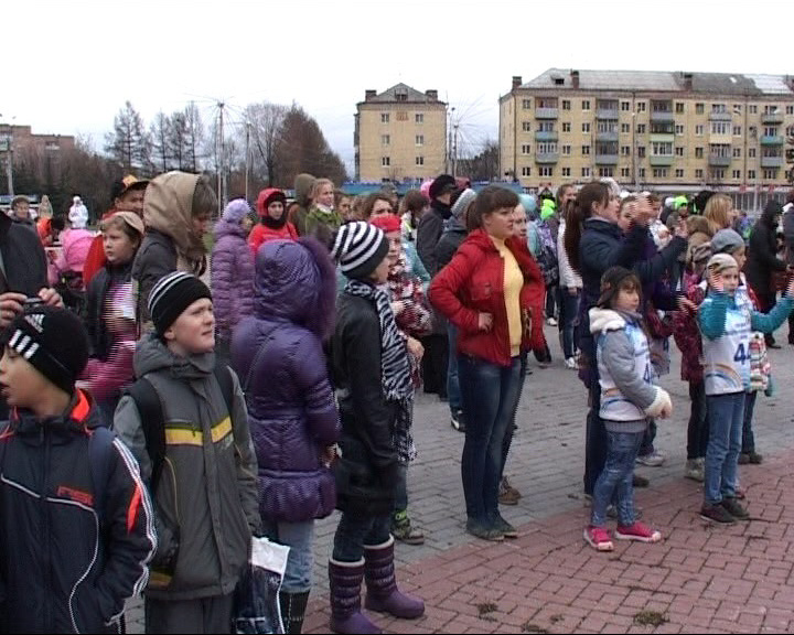 В Рыбинске стартовал конкурс городской зарядки
