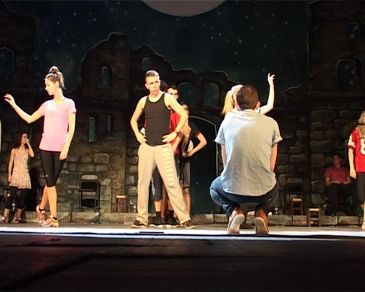 Ирландские национальные танцы на сцене Волковского театра