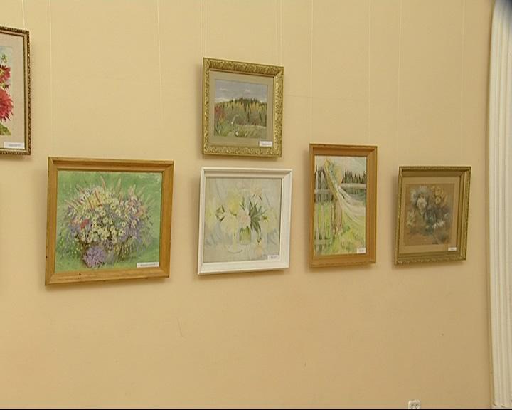Выставка художницы Светланы Тихомировой