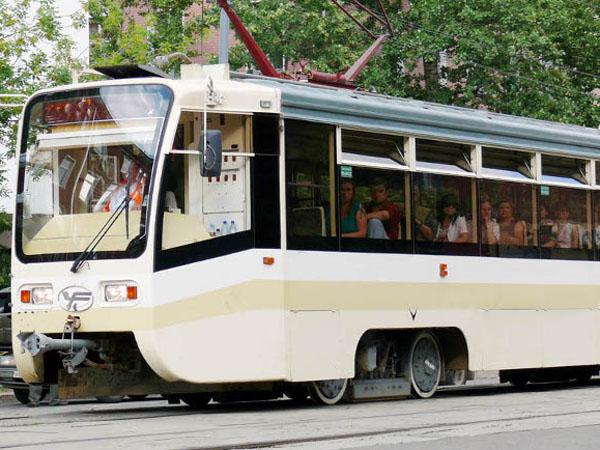 Пятый трамвай временно будет ходить по укороченному маршруту