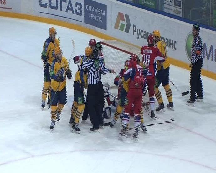 «Локомотив» VS «Атлант» 2-0