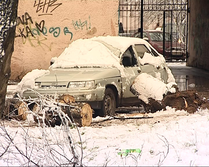 Ярославль утонул в снегу