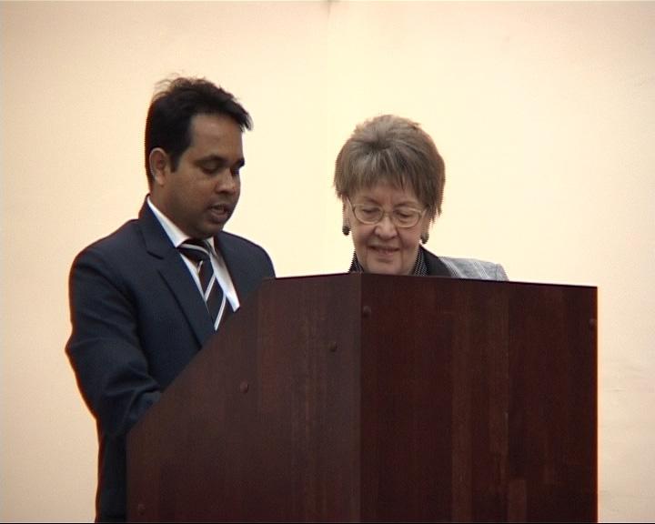 Представитель посольства Индии в ЯГПУ