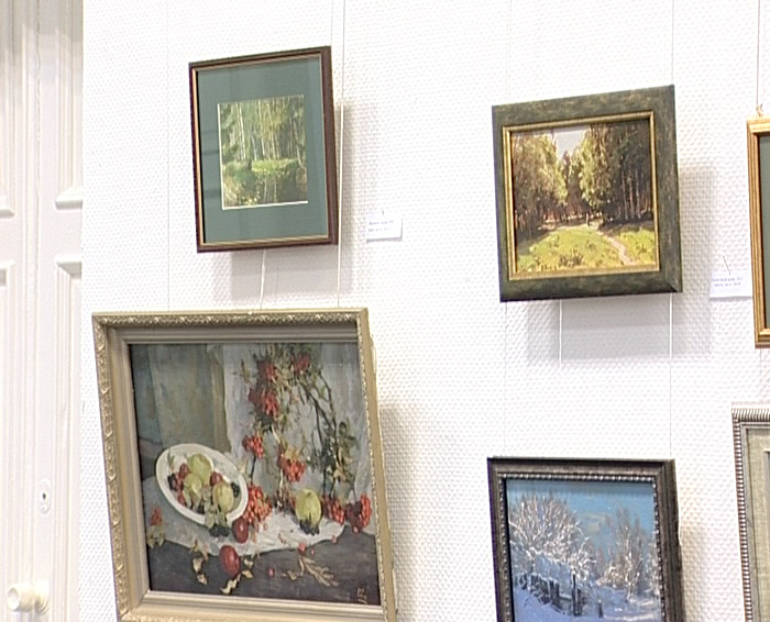 Открылась выставка Виктора Решитова