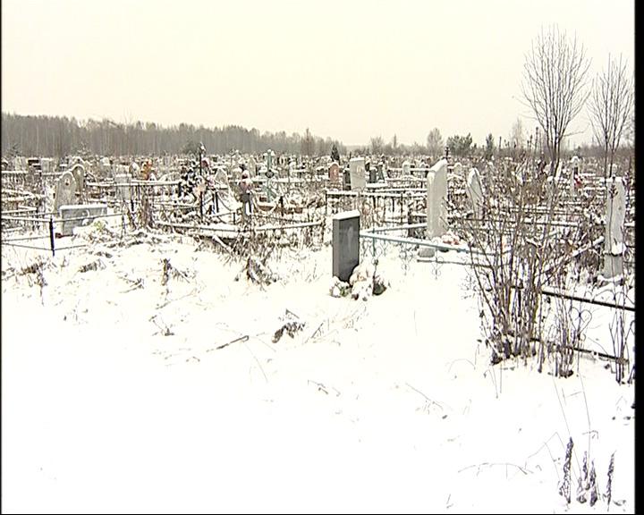 Новое кладбище в Ярославле