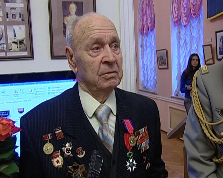 Ярославец удостоен французской золотой медали