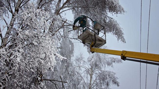 Электроснабжение в трех районах Ярославской области восстановят к 20.00